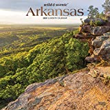Arkansas Wild & Scenic 2020 12 x 12 Inch Monthly Square Wall Calendar with Foil Stamped Cover, USA United States of America Southeast State Nature