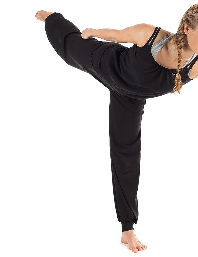 Winshape Damen 3//4-Arm-Jumpsuit WJS2 Fitness Freizeit Sport Yoga Pilates Jumpsuit