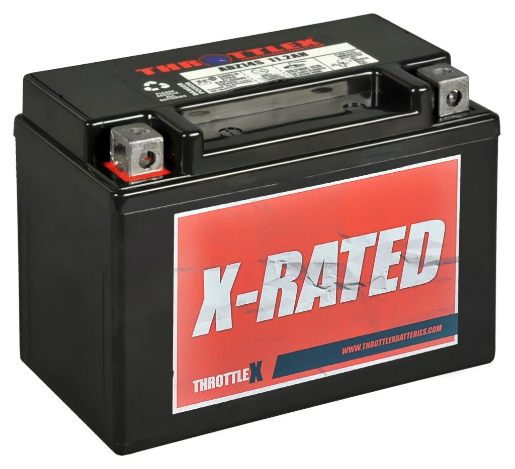 ThrottleX Batteries - ADZ14S- AGM Replacement Power Sports Battery