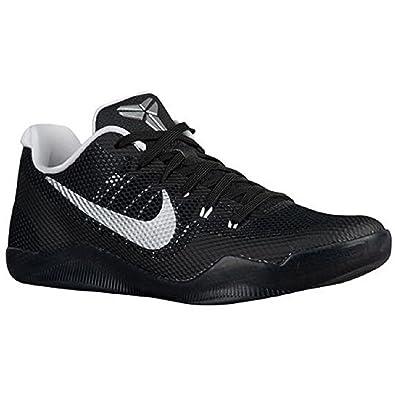 Amazon.com | NIKE Men's Kobe Xi TB Promo Basketball Shoes Black Silver  White 856485 001 | Basketball