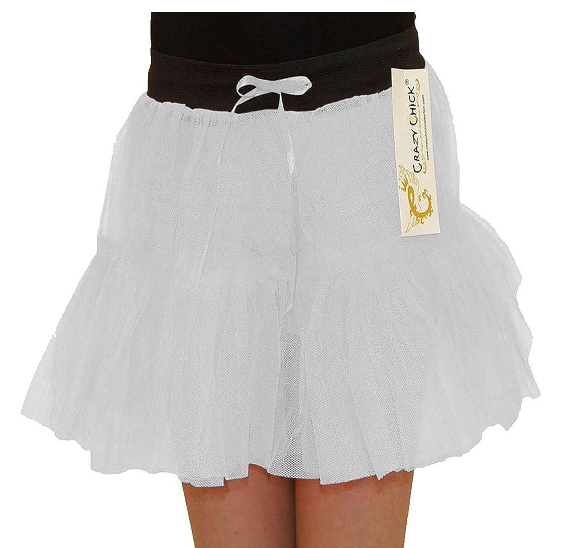 Rimi Hanger Girls Fancy 2 Layer Tutu Skirt Children Ballet Dance Wear Fancy Dress Skirt 5-10 Years
