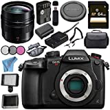 Panasonic Lumix DC-GH5S Mirrorless Micro Four Thirds Digital Camera Leica DG Summilux 12mm f/1.4 ASPH. Lens Bundle