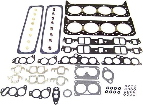 Firebird// 3.4L// OHV// V6// 12V// 207cid DNJ HGS3107 Graphite Head Gasket Set//For 1993-1995// Chevrolet Pontiac//Camaro