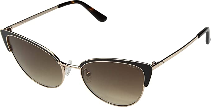 Amazon.com: Gafas de sol Guess (GU-7598 50G) color dorado ...