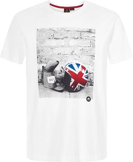 Merc of London Torcross Camiseta para Hombre: Amazon.es: Ropa y accesorios