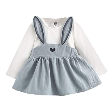 90e5dcbccf67 Amazon.com  0-3 Years Toddler Baby Girls Autumn Mini Princess ...