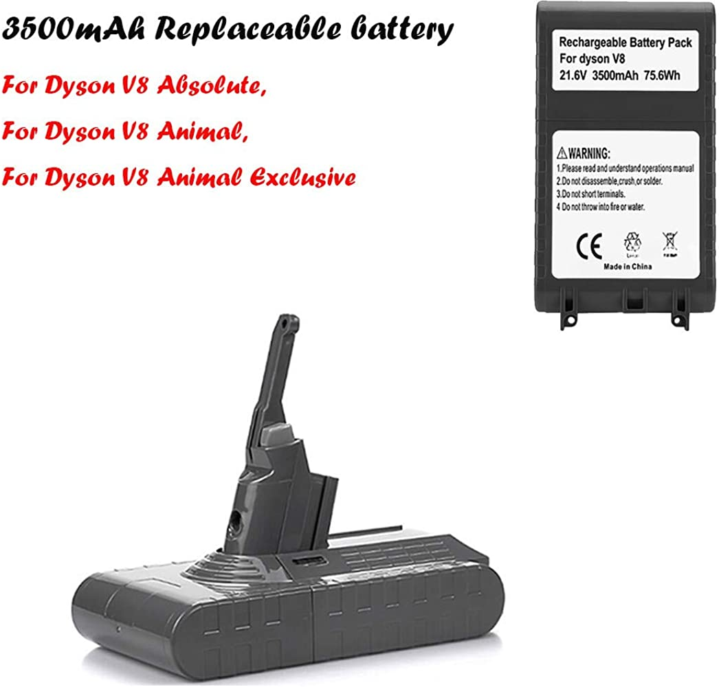 Accesorios para Aspirador de Bolsillo webla Pack de batería de Litio 3500 mAh 21.6 V para Batería Dyson V8 Absolute V8 Aspirador Animal: Amazon.es: Relojes