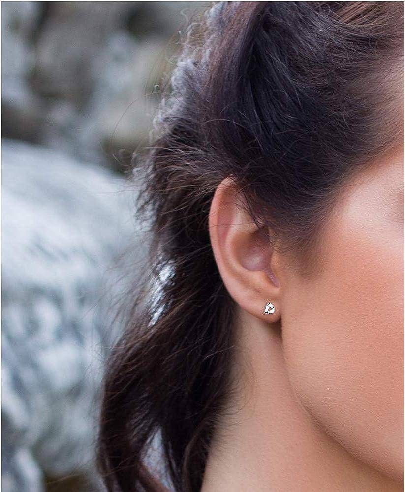 SOFIA MILANI Boucles dOreilles Femme Clous Triangles 925 Argent 20532