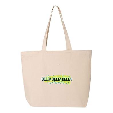 Amazon.com: Delta Delta Delta - Bolsa de la compra con tela ...