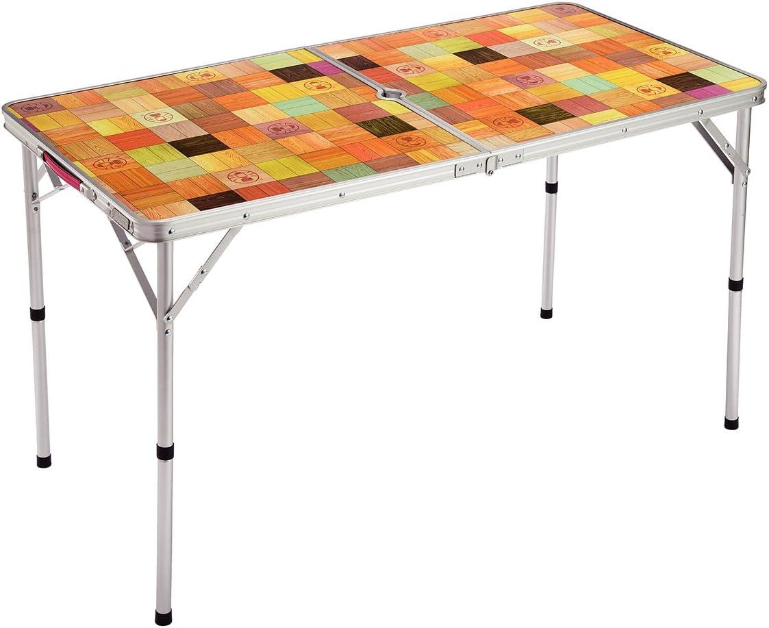 コールマン ナチュラルモザイクリビングテーブル 120プラス