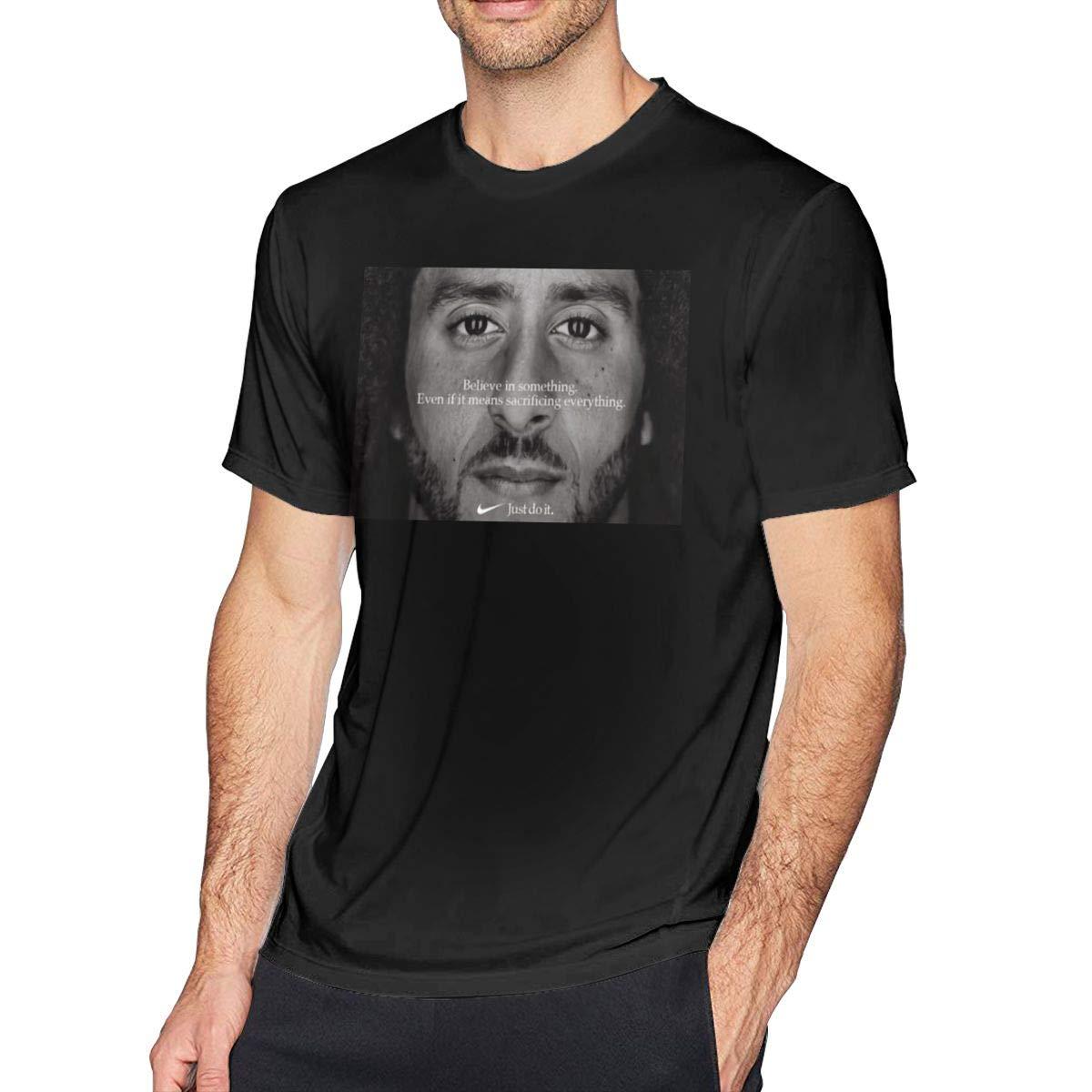 Xunikolemorris 5 Colin Kaepernick Just Do It Man's Tshirts 5 Black