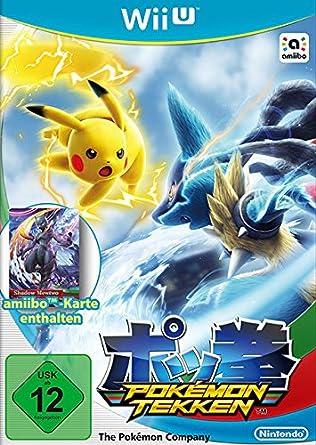 Nintendo Wii U Pokemon Tekken Juego Wii U Descarga Lucha