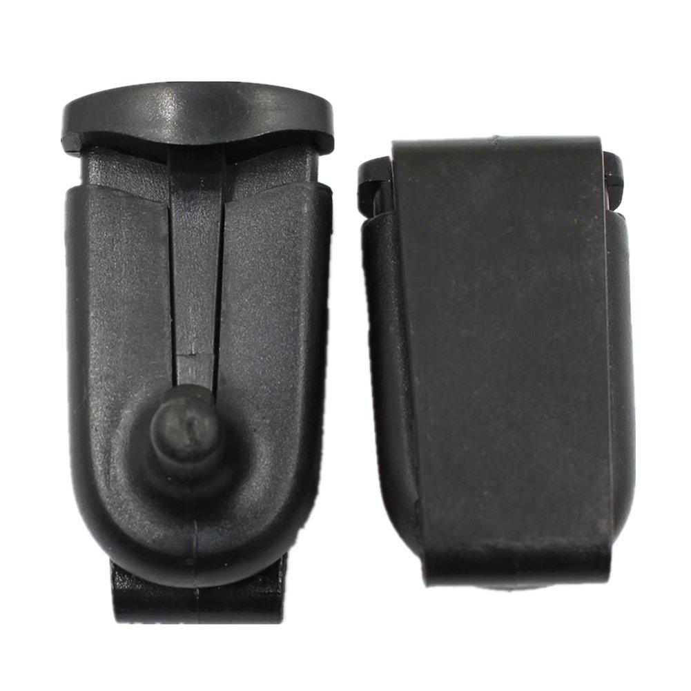 Amazingli Belt Clip for Motorola Talkabout 2 way Radios Walkie-talkie Black 10pcs 4350441200