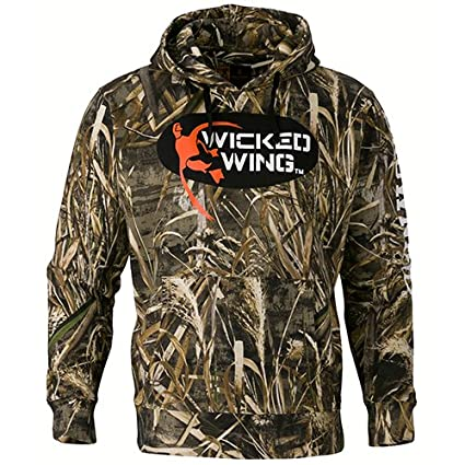 d967a1be8 Amazon.com : Browning 3016177603 Wicked Wing Hoodie, Realtree Max 5 ...