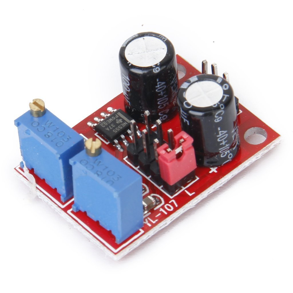 NE555 Pulse Frequency Duty Cycle Adjustable Module Square Wave Signal Generator Stepper Motor Drive FOER 3-01-0465