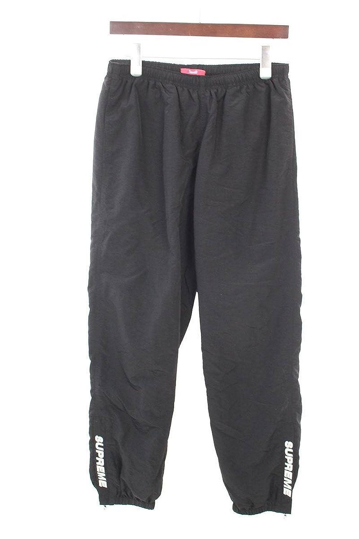 (シュプリーム) SUPREME 【17AW】【Warm Up Pant】ナイロンウォームアップロングパンツ(S/ブラック) 中古 B07FVF43WL  -