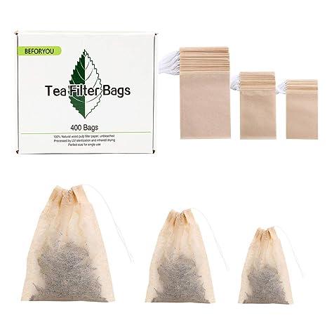 Amazon.com: Paquete de 400 bolsas desechables con cordón ...