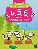 3, 4, 5, 6, 7 avec les animaux du jardin