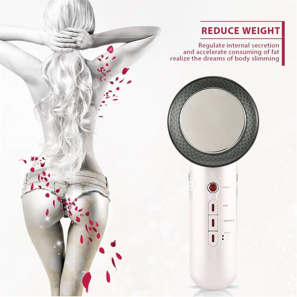 YAMEIJIA Ultrasons Visage Levage Massage EMS Photon Spa Corps Cellulite enlevement Gras therapie beaute Minceur Machine
