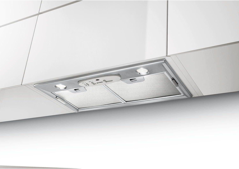 Faber - Lámpara LED para ventilador de campana extractora, 52 cm de ancho, diseño de acero inoxidable, funcionamiento de extracción o recirculación, 2 ledes de 2 W: Amazon.es: Grandes electrodomésticos