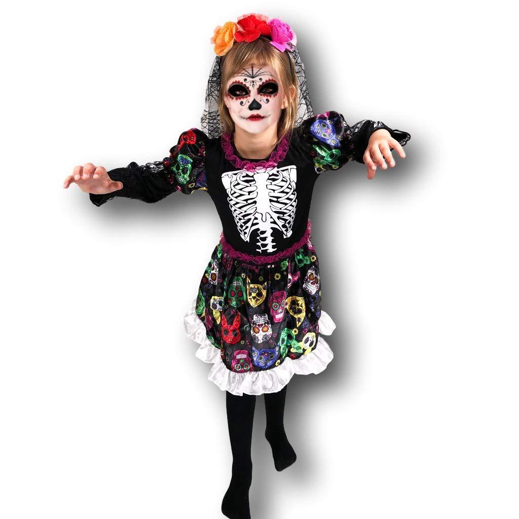 Rubber Johnnies DÍA DE LA Muerta Disfraz de Novia Esqueleto ...