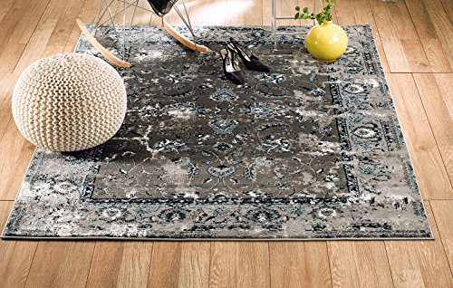 Area Rugs Vintage White Washed Distressed Wilsonart 8 In X