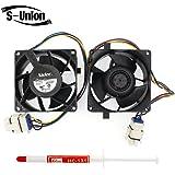 S-Union NIDEC V80E14MS2A3-57A611 239D1412P002 80mm 80mm 38mm DC13.6V 0.16A Server Square Cooler fan