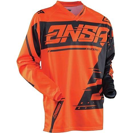 Orange//Grey//Medium Answer Racing A18 Elite Mens Off-Road Motorcycle Jerseys