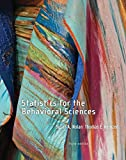 Statistics for the Behavioral Sciences 3rd Edition