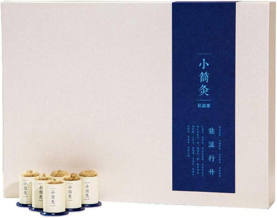 MRSDBTL Moxa Stick Box Caja de moxibustión portátil Uso de moxibustión para Calentar el área del Cuerpo Aliviar el Dolor Jarra de moxibustión: Amazon.es: Hogar