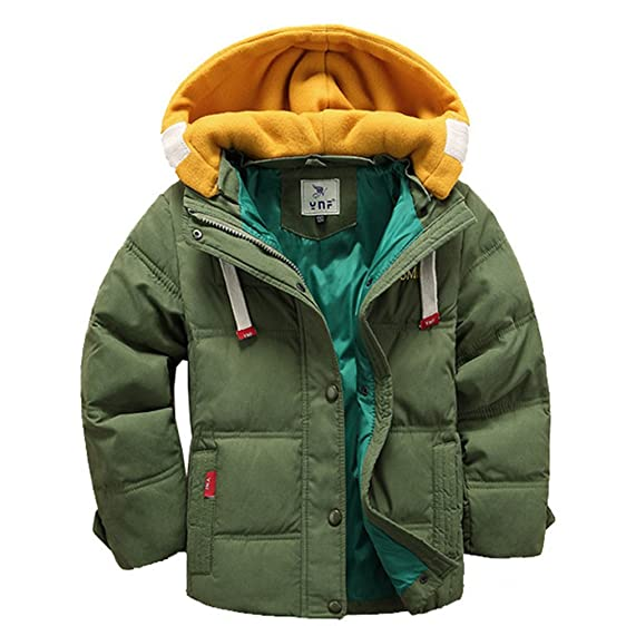 Amazon.com: Generic Children Boys and Girls Duck Down Coat Winter ...