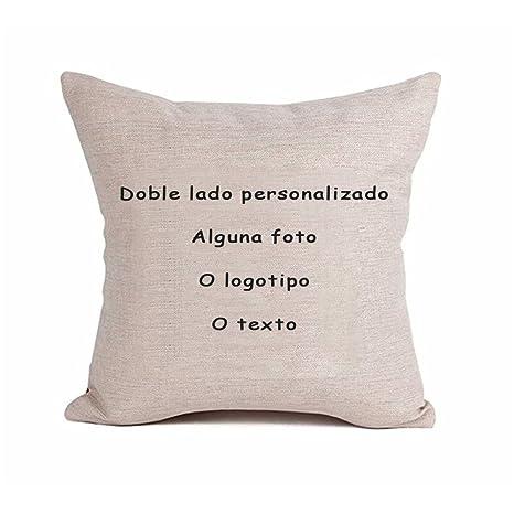 Bokning Cojín de almohada personalizado bricolaje funda con ...