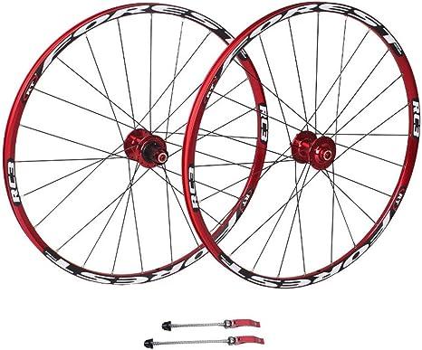 ZNND 26 Pulgadas MTB Montaña Ruedas De Bicicleta, Ruedas De Ciclismo Freno De Disco 11 Velocidad Rodamientos Sellados Cubo Bicicleta Hibrida Turismo: Amazon.es: Deportes y aire libre