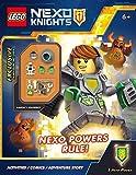 NEXO Powers Rule! (LEGO NEXO Knights: Activity Book with minifigure)