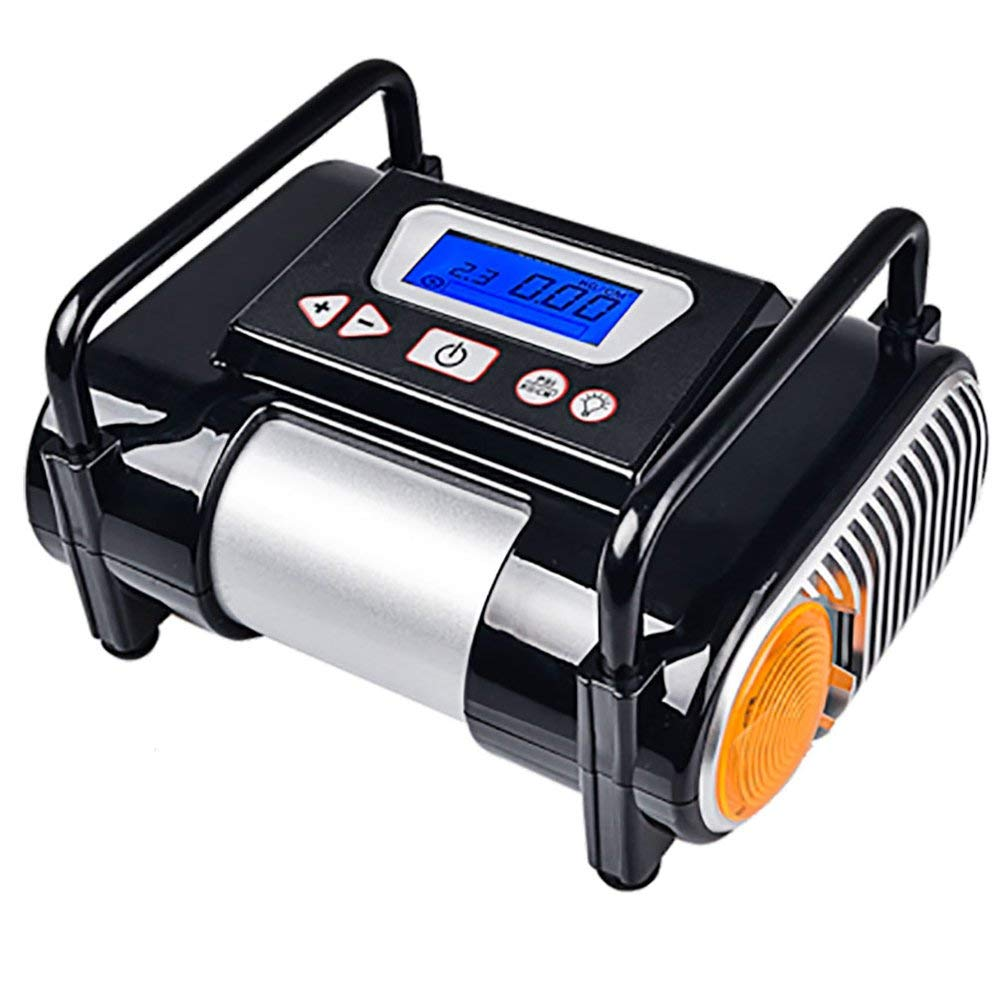 Tire Inflator/Air compressor,12V DC Tire Inflator Electric Portable Auto Air Compressor Pump to for Car,Truck, Bicycle, Basketball