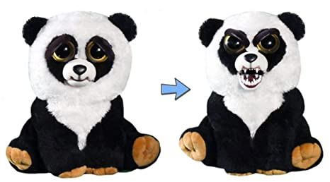 f1a5a99098467 Feisty Pets by William Mark- Black Belt Bobby Adorable 21.5cm Plush Stuffed  Panda That