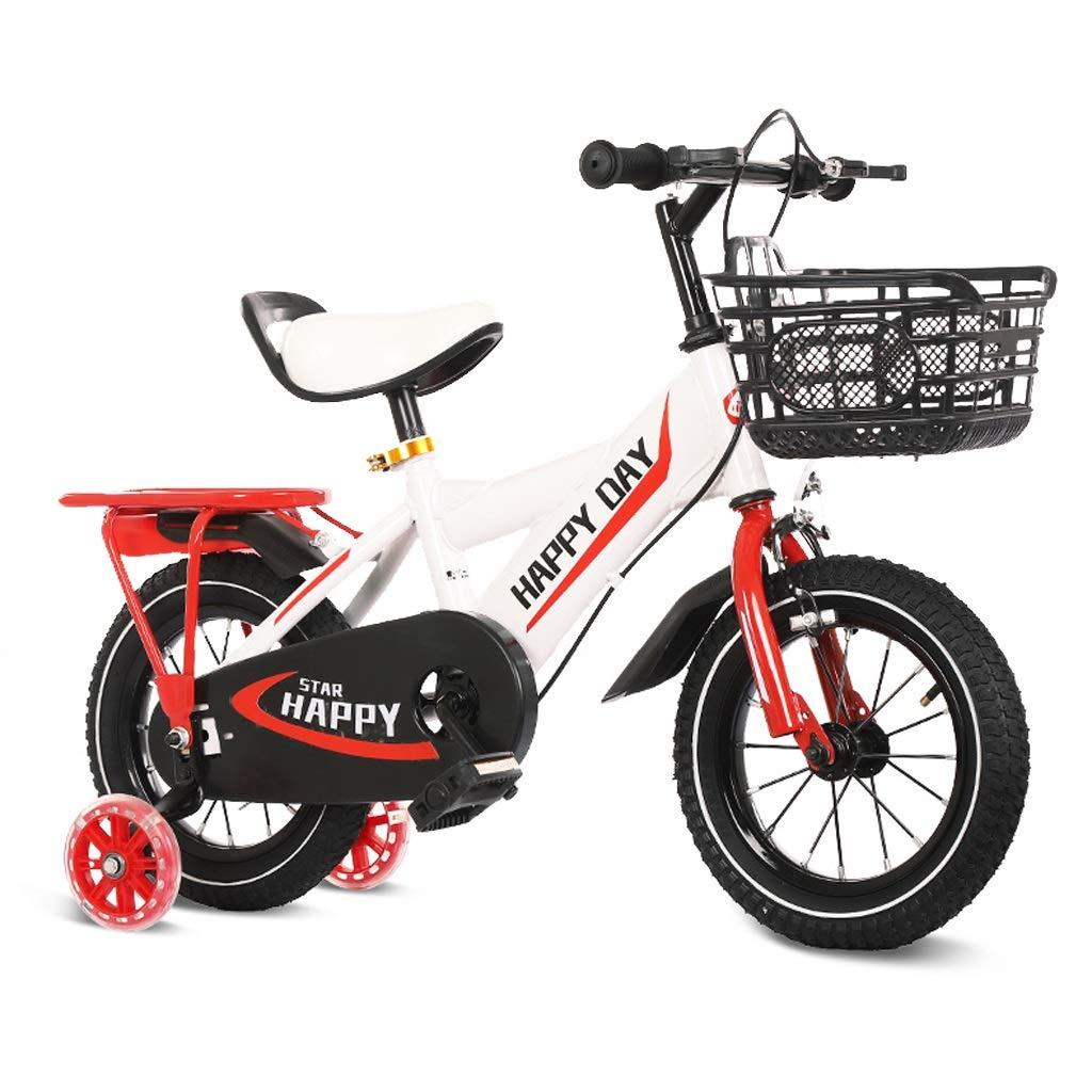 子供の自転車2-3-4-6歳の自転車の少年少女自転車トレーニングホイール 14in 2 B07R2LNFWW