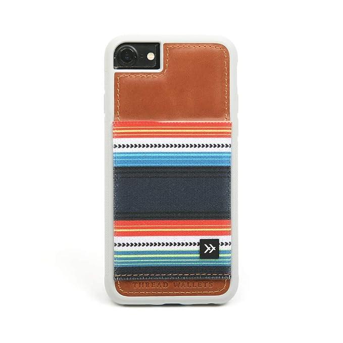 newest 978b8 56726 Thread Wallets - Slim Minimalist iPhone Wallet Case - iPhone 6/6s - iPhone  7 - iPhone 8 (Fits All) (Midnight)