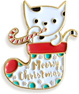 product image for Meowy Christmas Enamel Pin