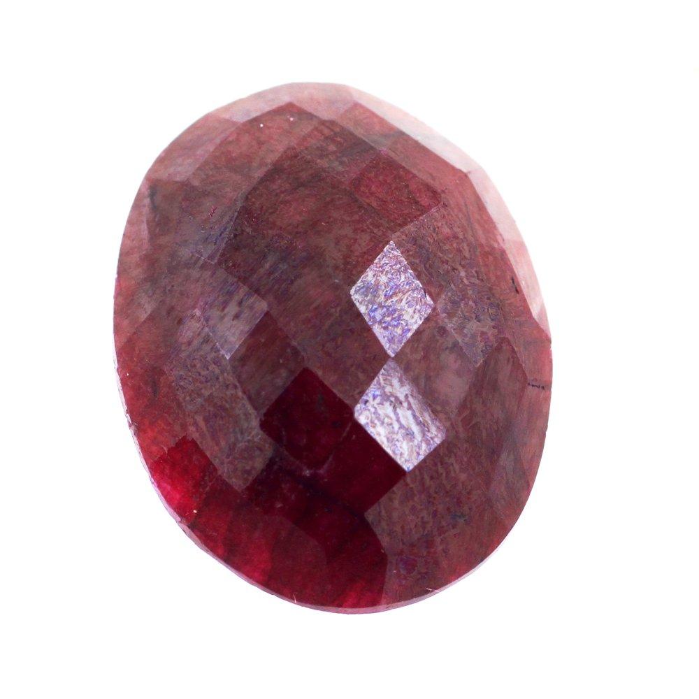 skyjewels 17.50 Carat Certified Natural Red Ruby Gemstone