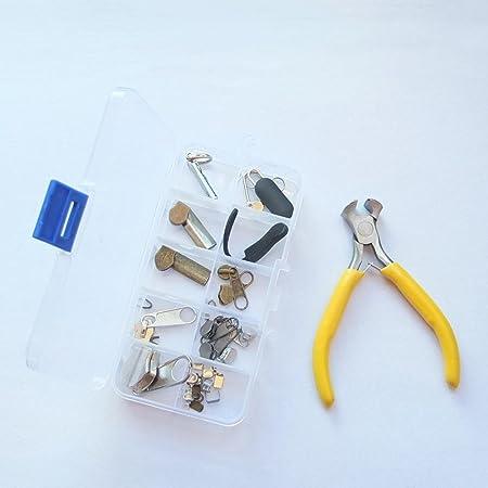 micoshop - Kit de reparación de Cremallera + una Caja de Herramientas de Repuesto para Pantalones: Amazon.es: Hogar