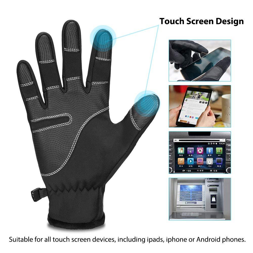 Aodoor Guanti Touchscreen Invernali d4be93cfc1d7