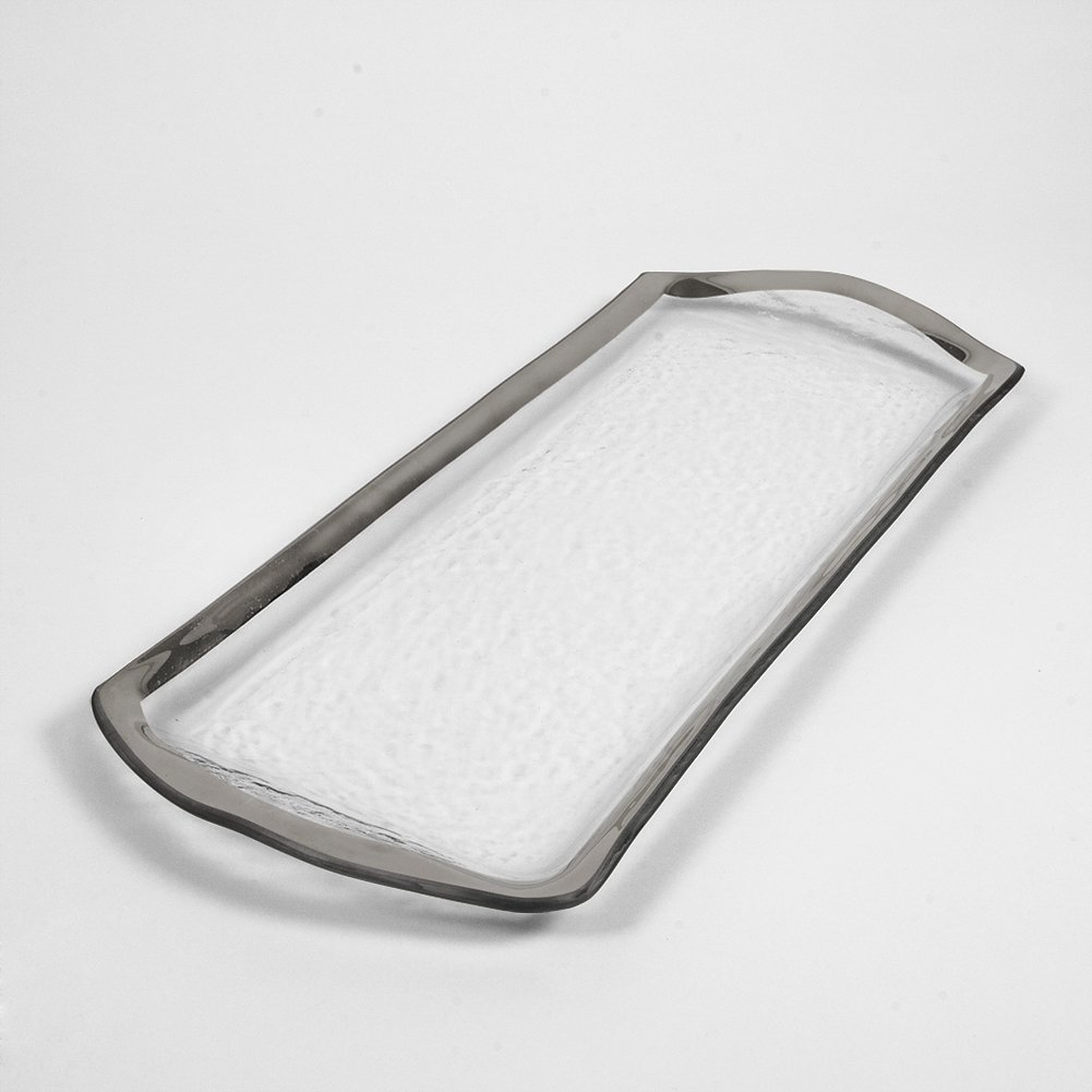 Annieglass Oblong Pastry Tray - Roman Antique