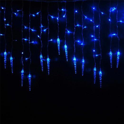 Weihnachtsdeko Lichter Innen.Buoceans 216 Led 5m Eisregen Eiszapfen Lichter Led Lichtervorhang Lichter Weihnachtsdeko Weihnachtsbeleuchtung Deko Christmas Innen Und Aussen