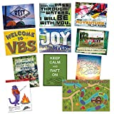 Vacation Bible School (VBS) 2018 Rolling River Rampage Decorating Poster Pak: Experience the Ride of a Lifetime with God!