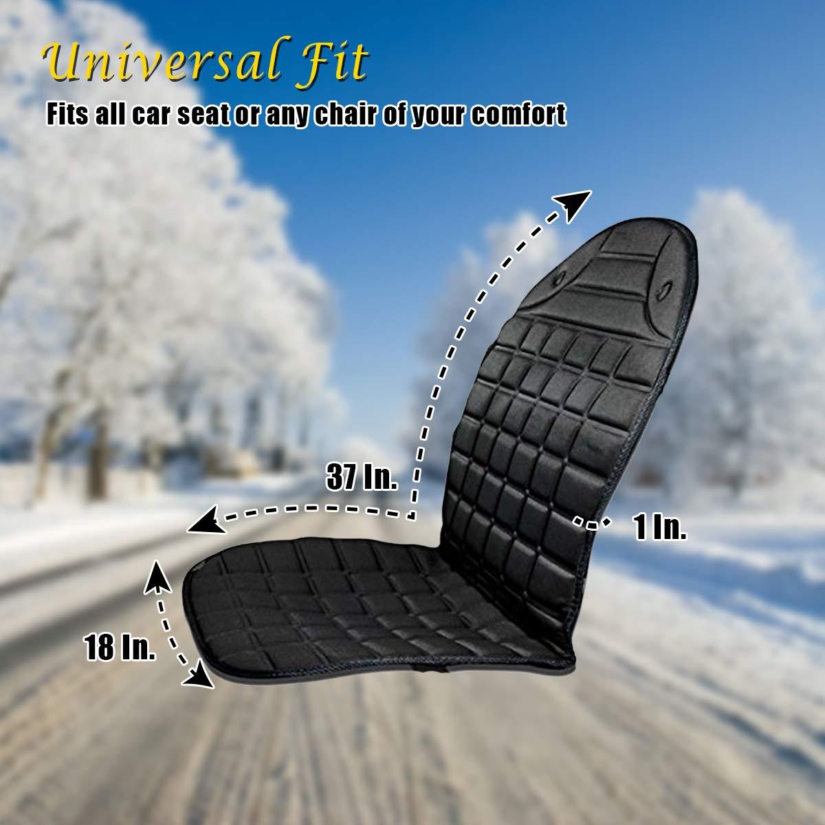Amazon.com: VaygWay - Cojín calefactable para asiento de ...