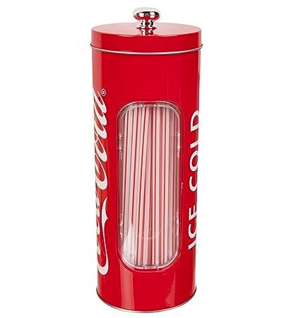 Coca Cola de paja Dispenser