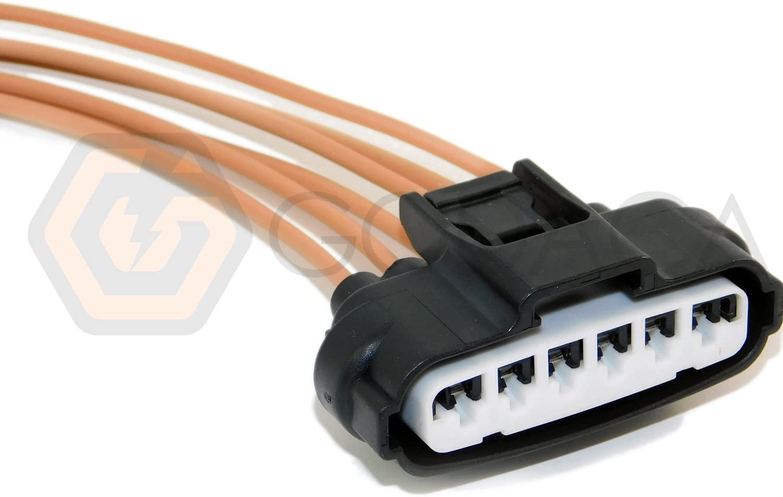 Amazon.com: 1x Connector 6-way for Toyota Throttle Body Sensor 90980-11858:  AutomotiveAmazon.com