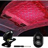 車用イルミネーション 投射ランプ 車載 雰囲気ライト USB式 LED車内装飾 ネオンシガーソケット LEDイルミネーションライト用 取付簡単 高輝度 防水LEDテープライト これ一つで車内の雰囲気が一気に変わります(满天星)