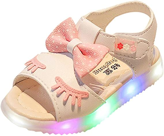 Baby bow summer sandals